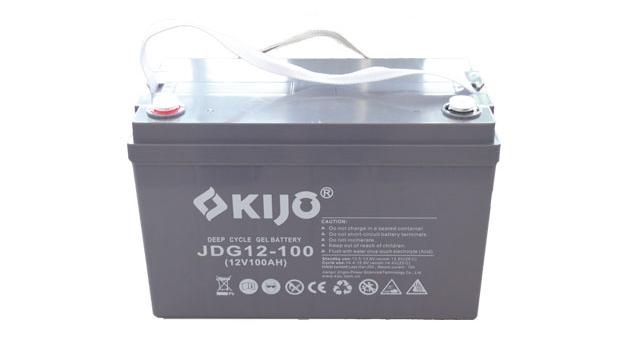 JDG-Series-12-100-1 (AGM-GEL-Batería de ciclo profundo)