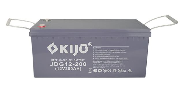 Serie JDG-12-200 (batería de ciclo profundo AGM GEL)