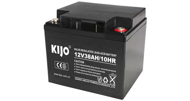Serie JM-12V38AH (batería de ciclo profundo AGM)