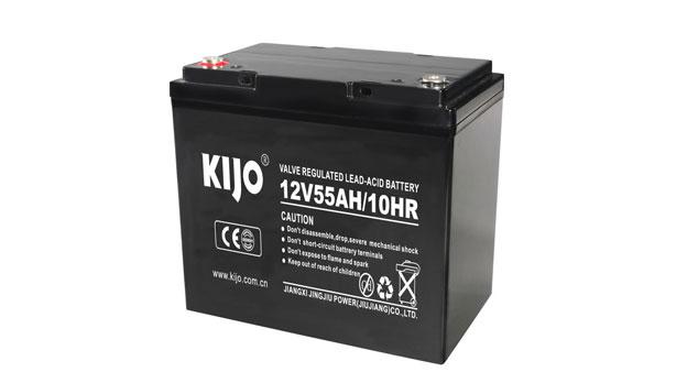 Serie JM-12V55AH-negro (batería de ciclo profundo AGM)