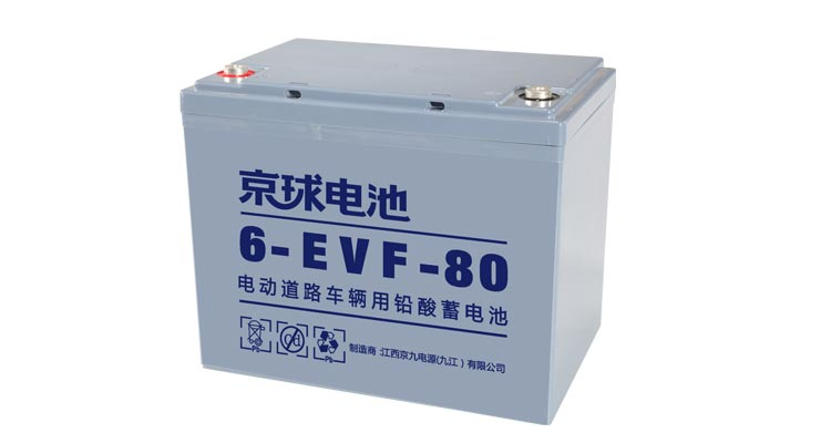 EVF Series 6-EVF-80 E-Vehicle Battery